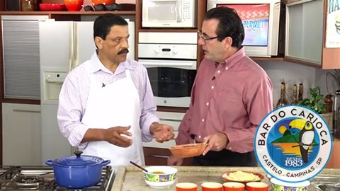 Programa Bon Gourmet – Coxinha De Abóbora Com Carne Seca E Catupiry